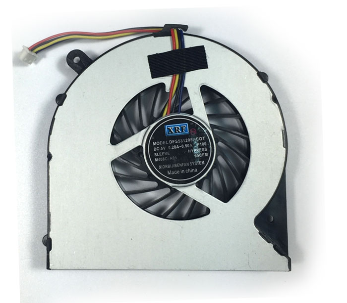 TOSHIBA-C850-4pin-Laptop CPU Fans